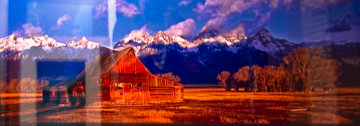 Nikk's Hut Panorama by Peter Lik