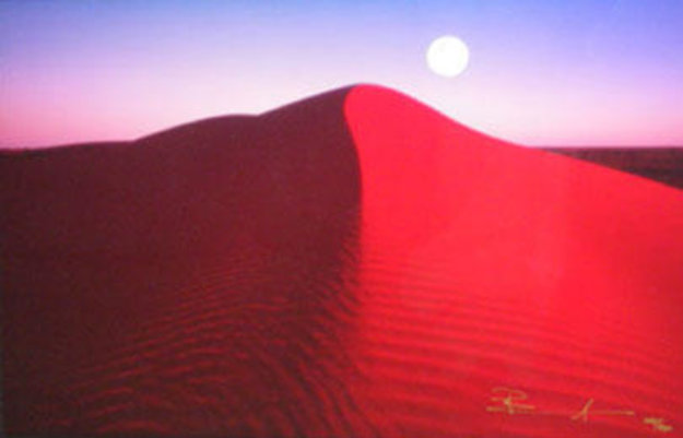 Lunar Fringe AP Simpson Desert Northern Territory Panorama by Peter Lik