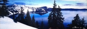 Deep Blue (Crater Lake National Park, Oregon) Panorama - Peter Lik