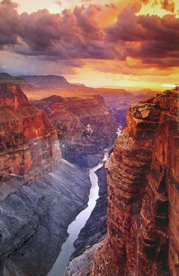 Heaven on Earth AP (Grand Canyon, AZ. NP) Panorama by Peter Lik
