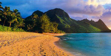 Seventh Heaven  (Na Pali Coast, Kauai, Hawaii) AP Panorama by Peter Lik
