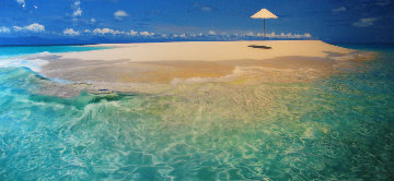 Imagine (Upolu Cay, Queensland) 1.5M Huge  Panorama - Peter Lik