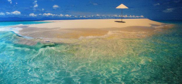 Imagine (Upolu Cay, Queensland) Panorama by Peter Lik