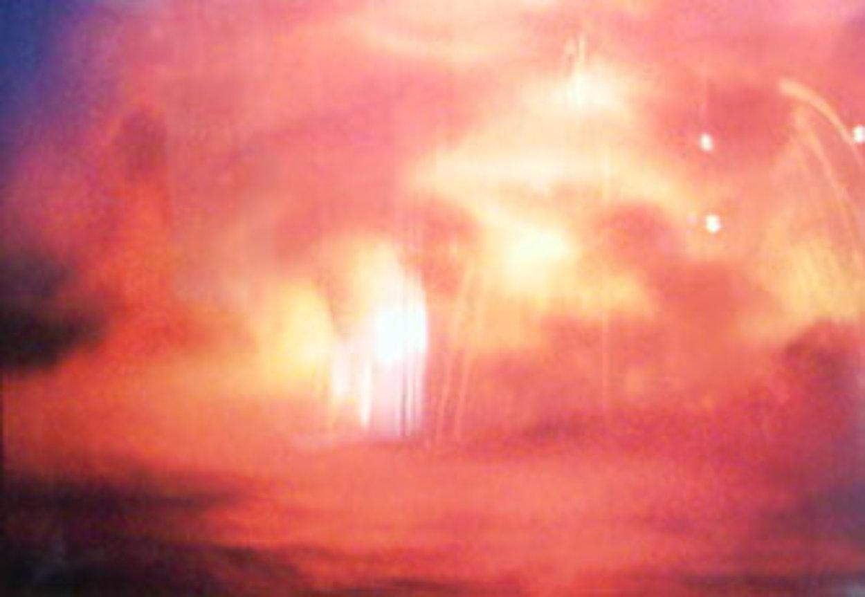 Ocean Fire AP Panorama by Peter Lik
