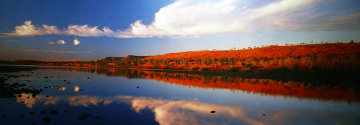 Outback Reflection Panorama by Peter Lik