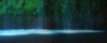 Tranquility (Mossbrae Falls, California) Panorama - Peter Lik