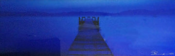 Midnight Blue (Lake Tahoe, CA) Panorama - Peter Lik
