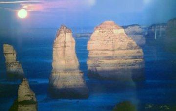 12 Apostles Moonglow (Marine NP, Victoria) Panorama - Peter Lik