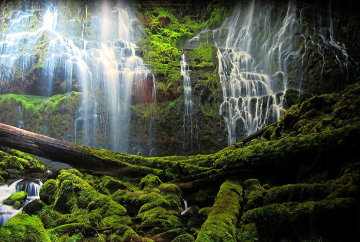 Pristine Waters (Mossman Gorge, Queensland) Panorama by Peter Lik