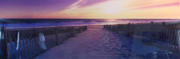 Atlantic Dawn (Newport, Rhode Island) Panorama by Peter Lik
