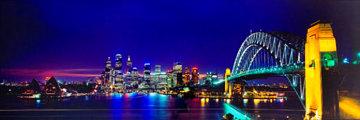 Sydney Australia  Skyscape AP Panorama - Peter Lik