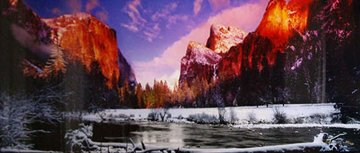Icy Waters AP (Yosemite NP, California) 2M Super Huge Panorama - Peter Lik