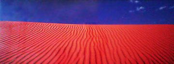 Desert Dunes (Simpson Desert, Northern Territory) Panorama by Peter Lik