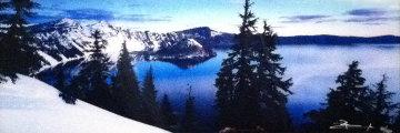 Deep Blue (Crater Lake National Park, Oregon) Panorama by Peter Lik