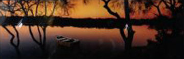 Noosa River, Queensland Australia Panorama by Peter Lik