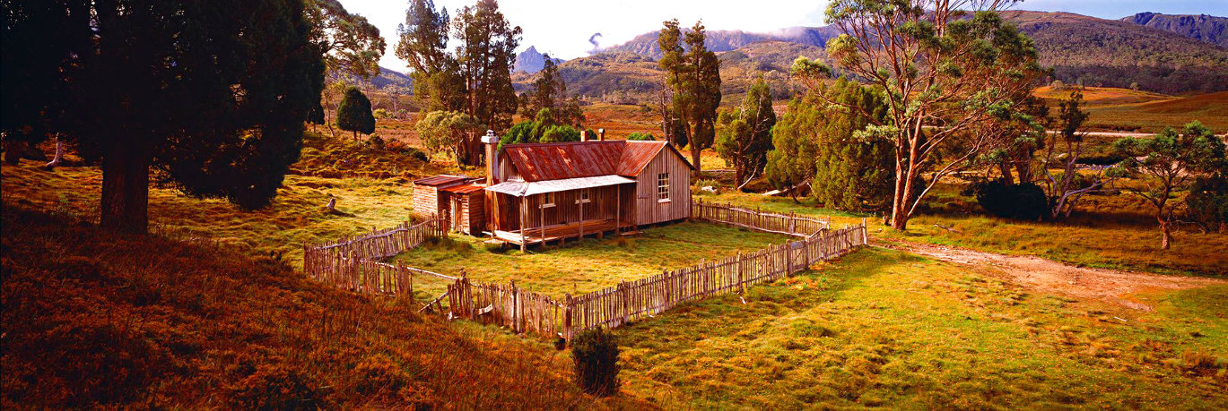Cradle Mountain Hut  (Cradle Mountain, Tasmania) Panorama by Peter Lik