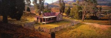 Cradle Mountain Hut (small edition 100) (Cradle Mountain, Tasmania) Panorama by Peter Lik