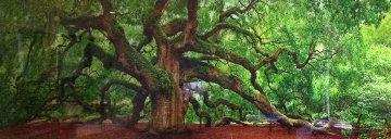 Tree of Hope & Tree of Life 2 prints Panorama by Peter Lik