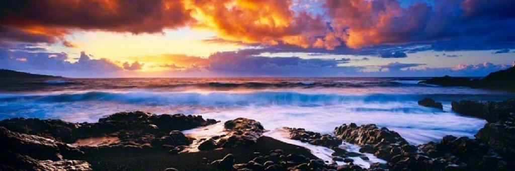 Genesis (Hana, Hawaii) Panorama by Peter Lik