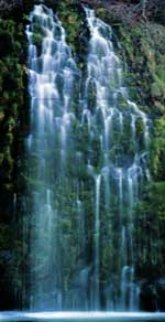 Sierra Cascades (Mossbrae Falls, California) Panorama by Peter Lik