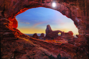 Stone Temple Panorama by Peter Lik