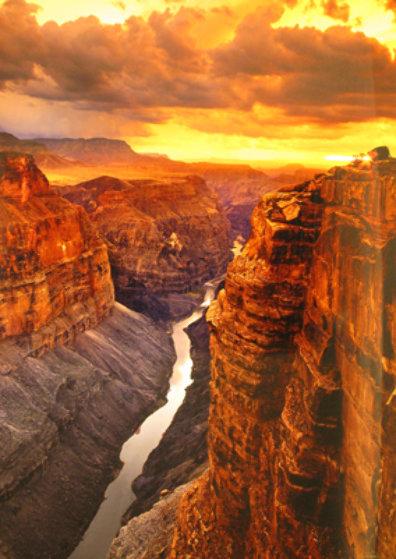 Heaven on Earth (Grand Canyon NP, Arizona) Panorama by Peter Lik