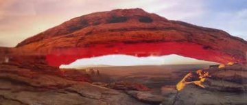 Majestic (Canyonlands NP, Utah) Panorama by Peter Lik