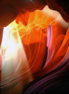 Spiritual Light AP (Antelope Canyon, Arizona) Panorama by Peter Lik