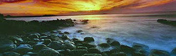 Last Light Panorama by Peter Lik