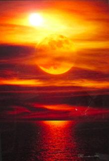 Moonlight Reflections (La Jolla, Ca) Panorama - Peter Lik