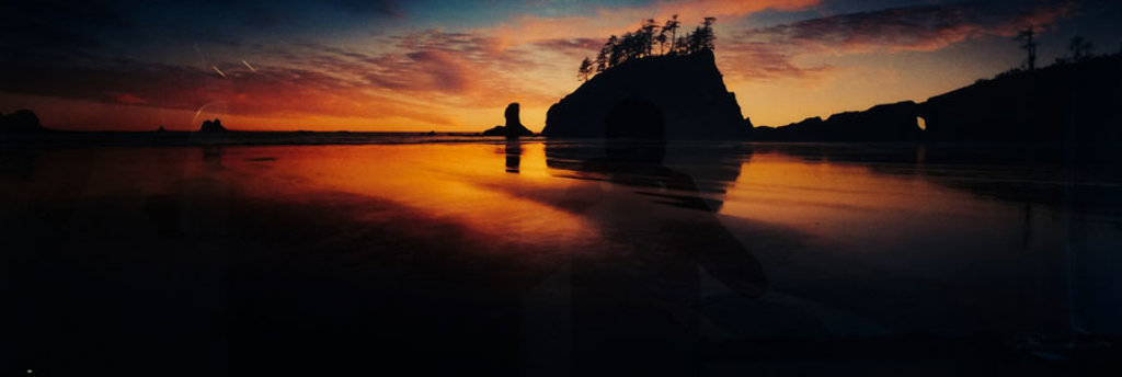 Twilight Reflections Panorama by Peter Lik