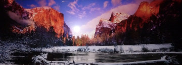 Icy Waters AP (Yosemite NP, California) 2M Super Huge  Panorama - Peter Lik