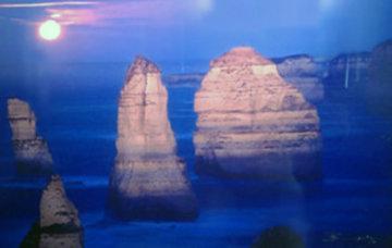12 Apostles Moonglow (Marine NP, Victoria) Panorama by Peter Lik