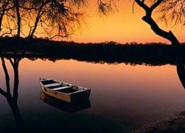 Noosa River, Queensland, Australia Panorama by Peter Lik