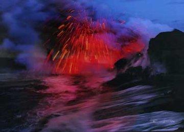 Revelation, Kilauea, The Big Island, Hawaii (Volcano) Panorama by Peter Lik