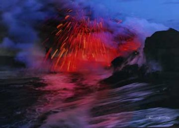 Revelation, Kilauea, The Big Island, Hawaii (Volcano) Panorama - Peter Lik
