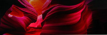 Angel's Heart (Antelope Canyon, AZ) Panorama by Peter Lik