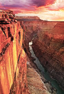 Edge of Time (Grand Canyon, Arizona)  Panorama by Peter Lik