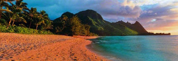 Seventh Heaven (Na Pali Coast, Kauai, Hawaii) Panorama by Peter Lik