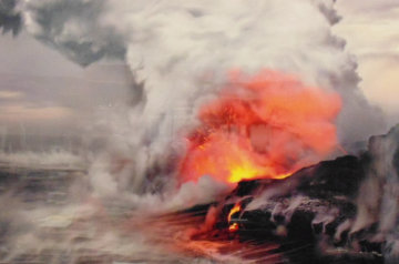 Pele's Whisper (Kilauea, The Big Island Hawaii) 1.5M Huge Panorama - Peter Lik
