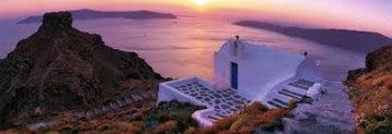 Romantica (Santorini, Greece) 1.5M Huge Panorama - Peter Lik