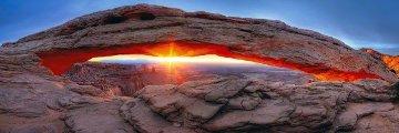 Sacred Sunrise (Canyonlands NP, Utah) Panorama - Peter Lik