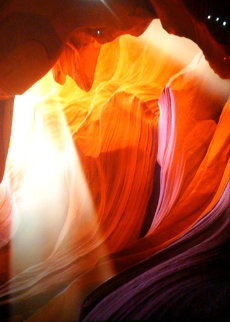 Spiritual Light (Antelope Canyon, Arizona) Panorama by Peter Lik