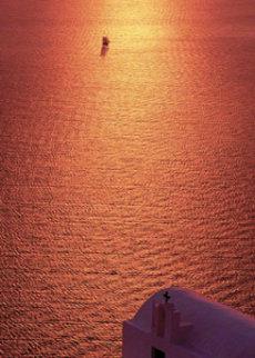 Sail Away (Firostefani, Santorini, Greece) Panorama by Peter Lik
