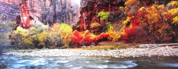 Temple of Sinawa (Zion National Park, Utah)  Panorama - Peter Lik