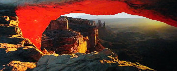 Echoes of Silence (Canyonlands National Park, Utah) Panorama by Peter Lik