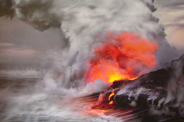 Pele's Whisper (Kileaua Big Island, Hawaii) Panorama - Peter Lik