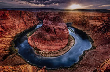 Turning Time 1.5M Huge Panorama - Peter Lik