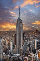 Empire, New York Panorama by Peter Lik - 0