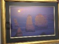12 Apostles Moonglow  (Marine NP, Victoria) 1.5M Huge Panorama by Peter Lik - 1